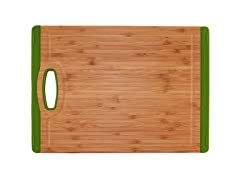 "13"" Non-Skid Cutting Board - Green"