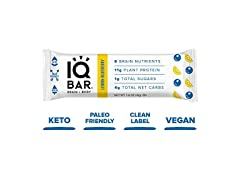 IQ BAR Brain + Body Bars, 12 Count
