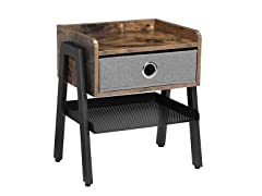 Industrial Nightstand