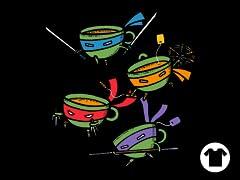 Teanage Mutant Ninja Teacups