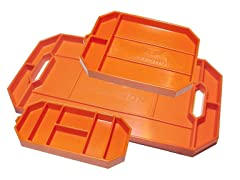 Grypshon Flexible Orange Tool Tray
