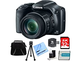 Canon PowerShot SX530 HS Digital Camera Bundle