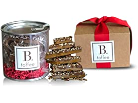 B Toffee 2Lb - Your Choice: Milk or Dark