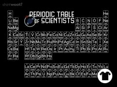 Periodic Table of Scientists