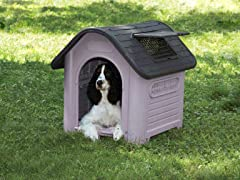 Guardian Gear Happy Home Deluxe Dog House - Grey