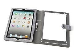 Booqpad for iPad 2/3/4 - Gray
