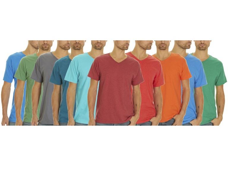 5-Pack Fotl Men's V-Neck Tees
