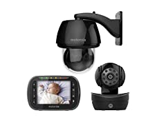 Motorola MBP360B Indoor / Outdoor Baby Monitor