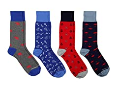 Unsimply Stitched Socks 4-Pack