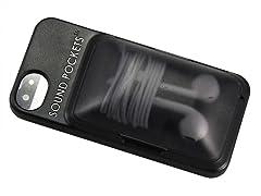 iPhone 5/5S Case with Headphone Storage