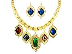 Gold-Plated Multi-Color Fancy Set