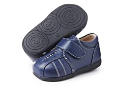 Squeaky Shoe - Brandon, Navy (3-8)
