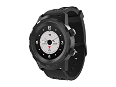 "3Plus ""Cruz"" Hybrid Smart Watch - Black"