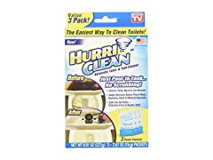 Ontel HurriClean Auto Toilet Cleaner