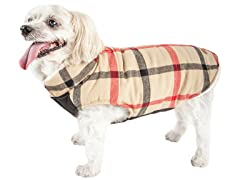 Pet Life Plaid Dog Jacket