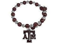 NCAA Snowflake Memory Wire Bracelet