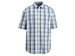 Yukon Button-Down Shirt, Blue