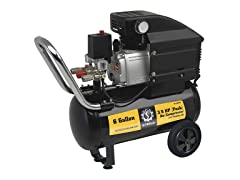 6-Gallon Air Compressor, Wheel Kit