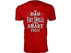 DAD Fart Smell I Mean Smart Fella Tee
