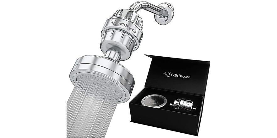 BathBeyond Luxury Shower Head Filter Set | WOOT