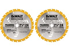 DeWALT 24-Tooth Carbide Blade (2-Pack)