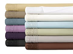 Vilano Springs Lace Extra Deep Pocket Sheet Sets