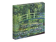 Monet Water Lily Pond, 1899 (blue) - (2 Sizes)