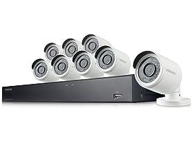 Samsung 8-Ch 1080p Security Camera System
