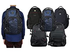 2PK Multi-Compartment All-In-1 Backpack