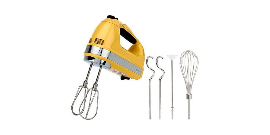 Kitchenaid 9 Speed Hand Mixer Maj Yellow