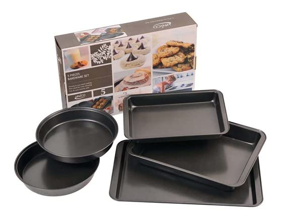 Unico 5 Piece Bakeware Set