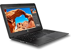 "HP ZBook 15U-G4 15"" Intel i5 256GB Workstation"