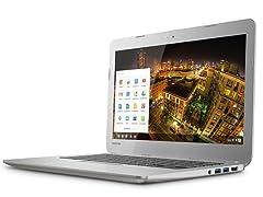 "Toshiba 13.3"" Dual-Core 16GB Chromebook"