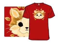 Cat of Leaves