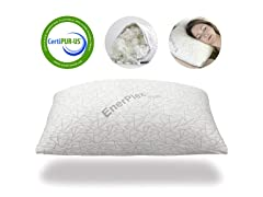 EnerPlex CertiPUR Never-Flat Foam Queen Pillow