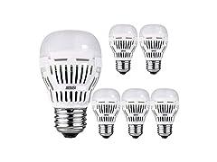 SANSI 8W (60W Equivalent) A15 LED Bulbs