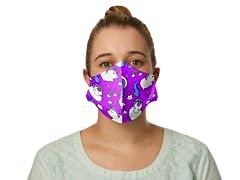 """Chubby Unicorns"" Face Mask"