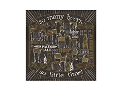 So Many Beers Coasters- Set of 4