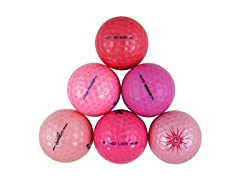 36pk of Reload Recycled Premium Proline Mix Pink Golf Balls
