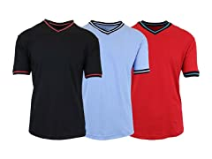 Men's V-Neck Tees 3-Pack