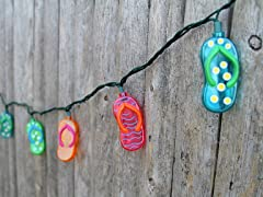 Flip Flop String Lights- 10 Count