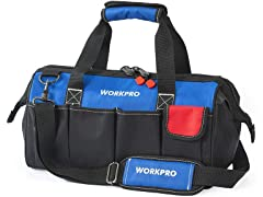 WORKPRO 18-inch Close Top Storage Tool Bag