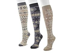 3-Pair Knee High Ice Sock Pack