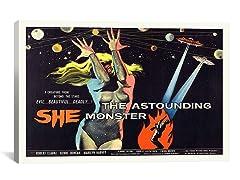 The Astounding She-Monster (2-Sizes)