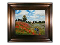 Monet - Poppy Field in Argenteuil