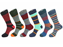 Unsimply Stitched Boot Socks 6-Pack