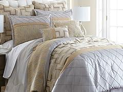 8-Pc Maddox Jacquard Comforter Set