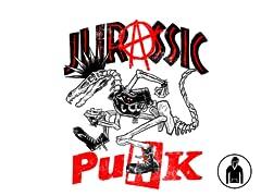 Jurassic Punk Pullover Hoodie