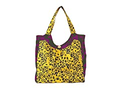 Kitsch'n Glam Tote Bag, Honeycomb
