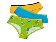 "Adventure Time ""PYB"" Hipster Briefs 3-Pk"